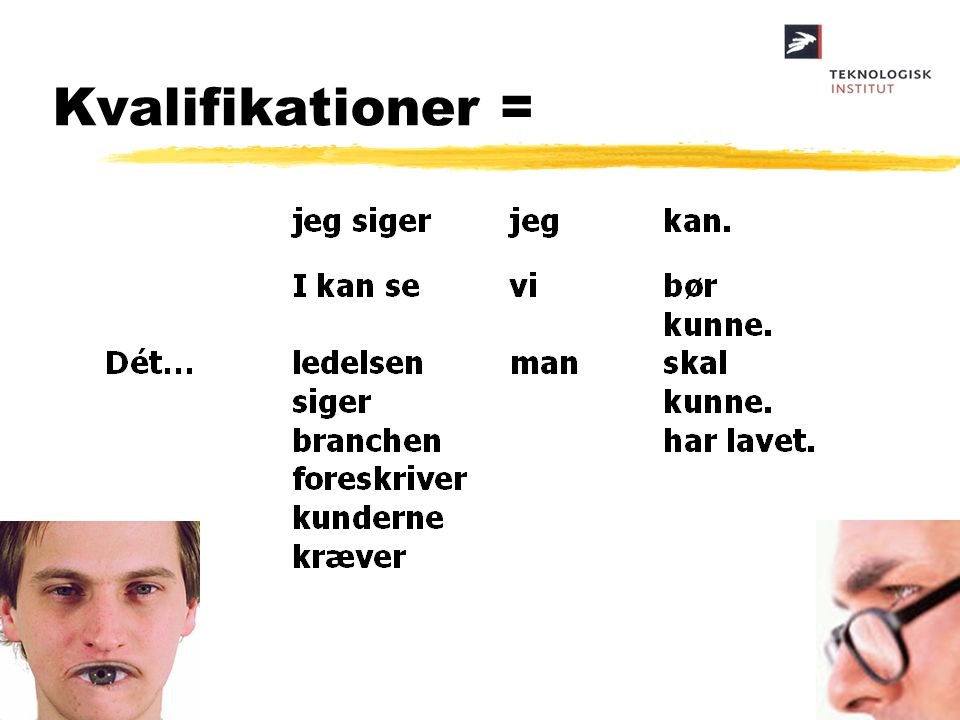 Kvalifikationer =