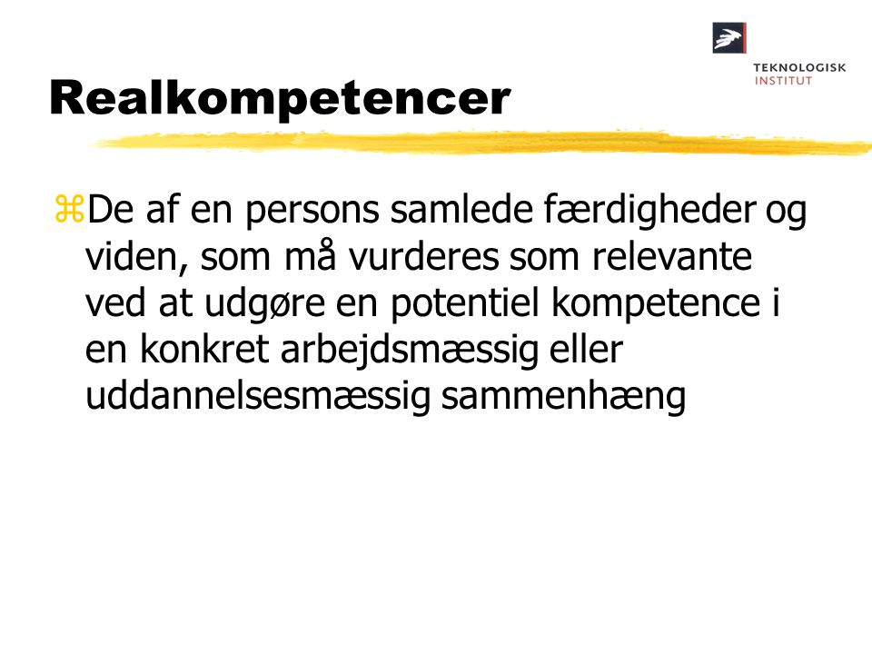 Realkompetencer