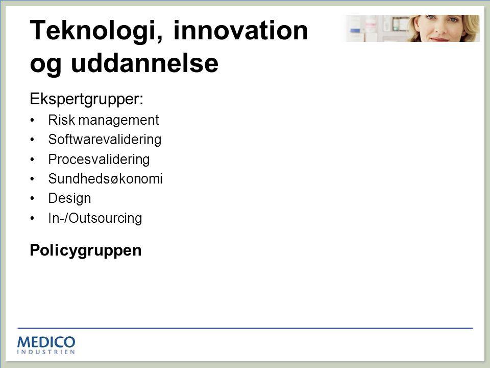 Teknologi, innovation og uddannelse