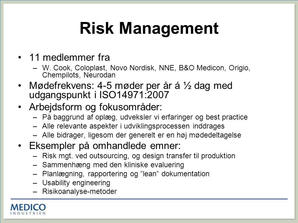 Risk Management 11 medlemmer fra