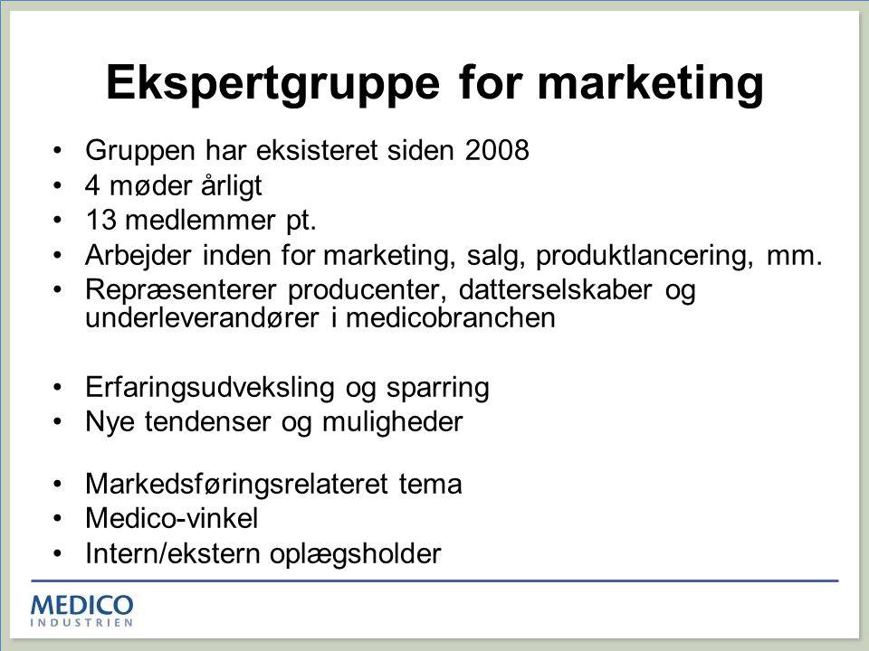 Ekspertgruppe for marketing