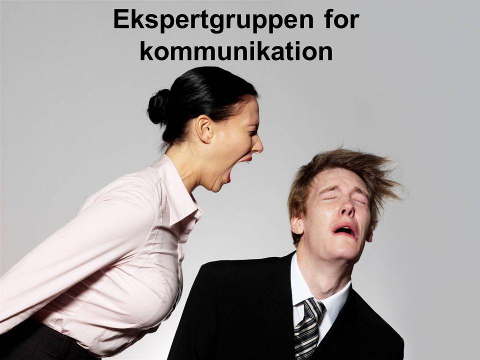 Ekspertgruppen for kommunikation