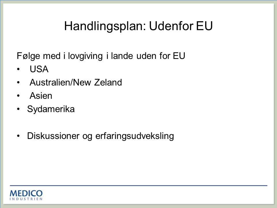 Handlingsplan: Udenfor EU