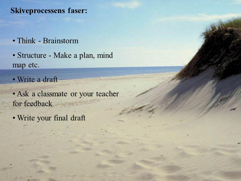 Skiveprocessens faser: