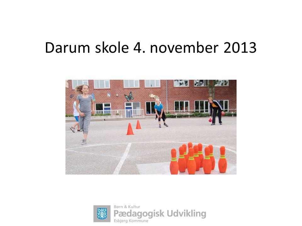 Darum skole 4. november 2013