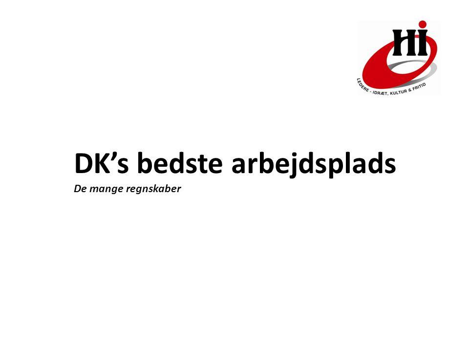 DK's bedste arbejdsplads