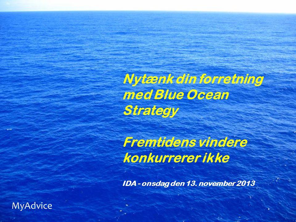Nytænk din forretning med Blue Ocean Strategy