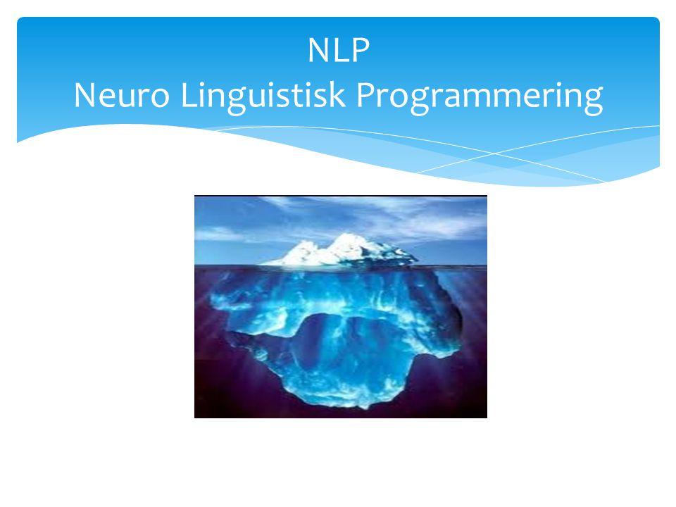 NLP Neuro Linguistisk Programmering