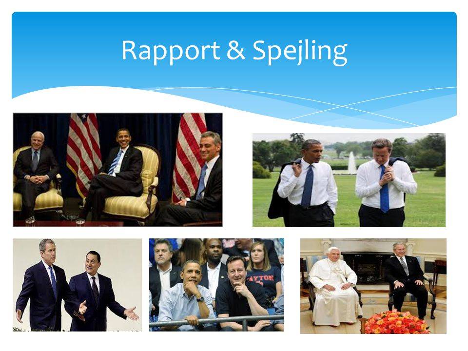 Rapport & Spejling