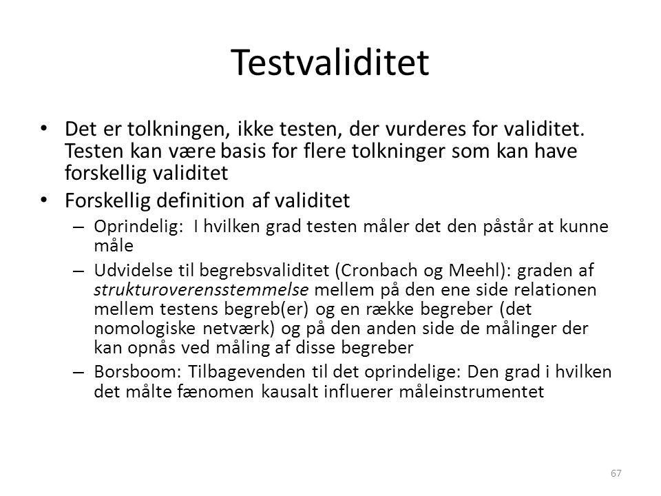 Testvaliditet