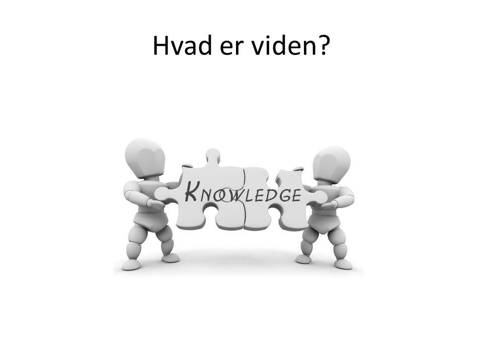 Hvad er viden
