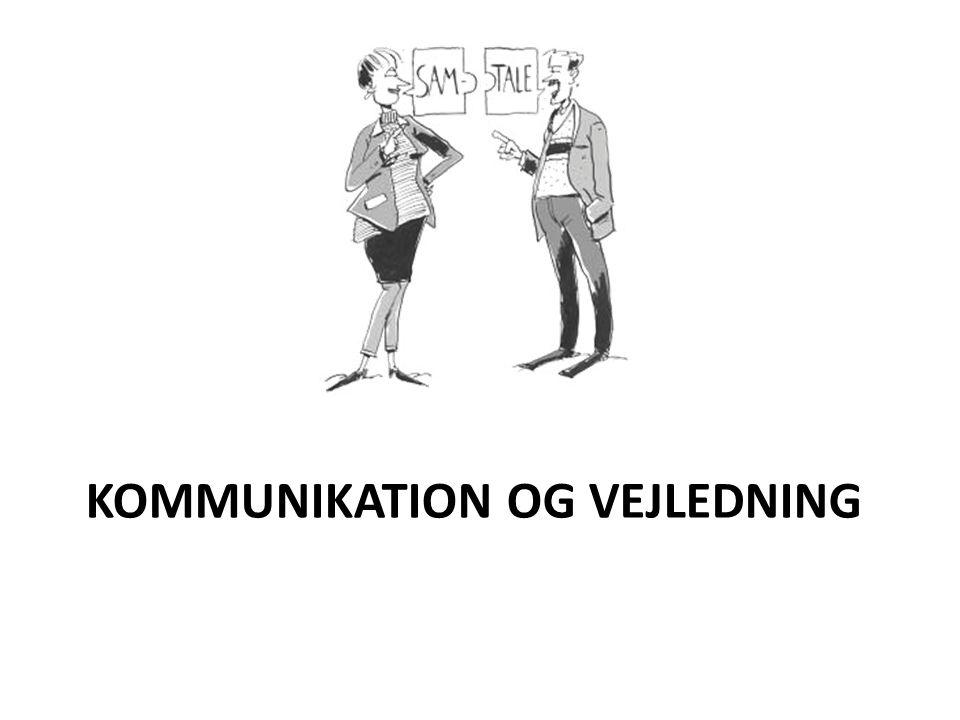 kommunikation og vejledning