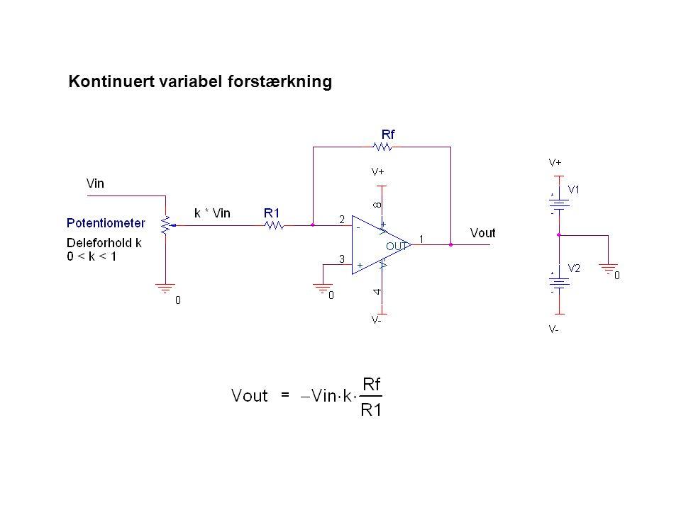 Kontinuert variabel forstærkning