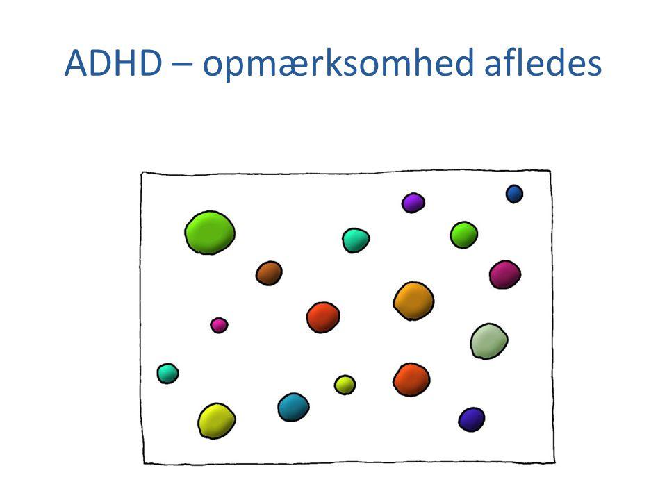 ADHD – opmærksomhed afledes