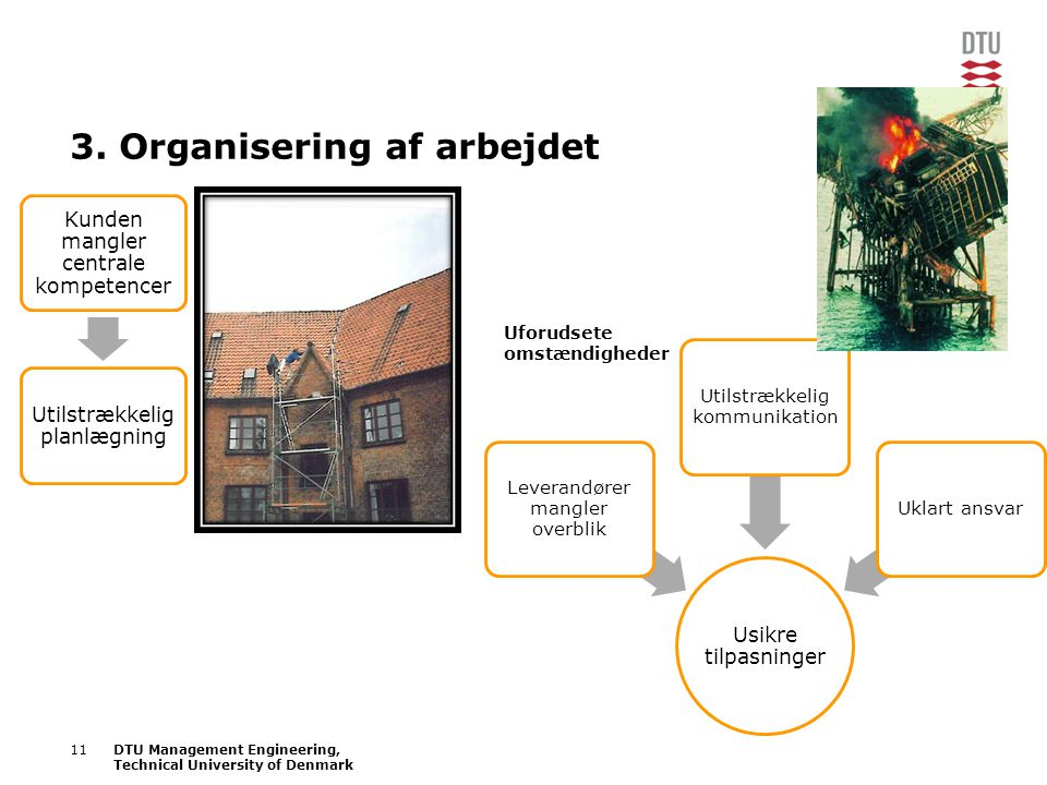 3. Organisering af arbejdet