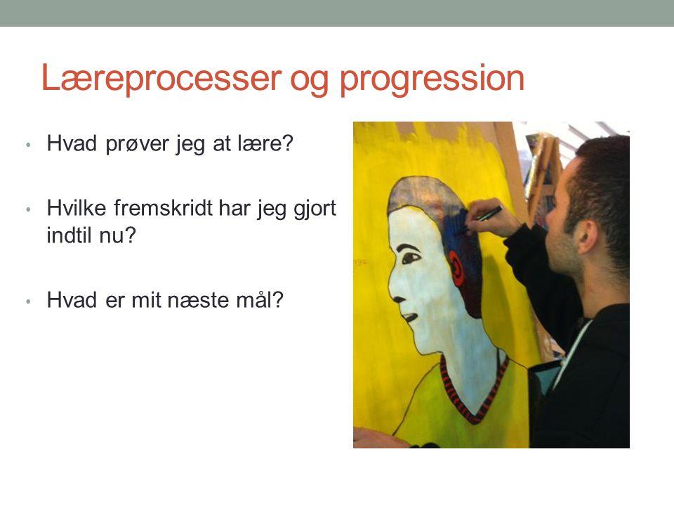 Læreprocesser og progression