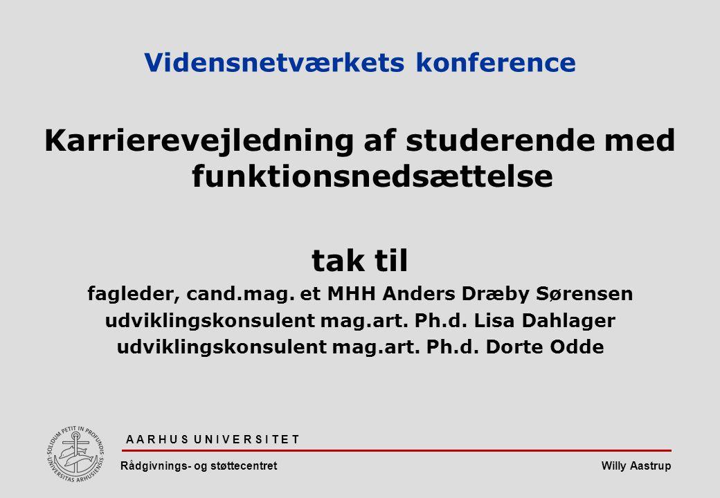 Vidensnetværkets konference