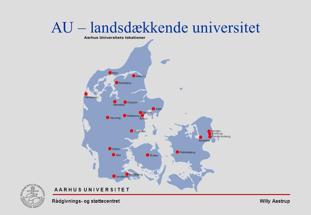 AU – landsdækkende universitet