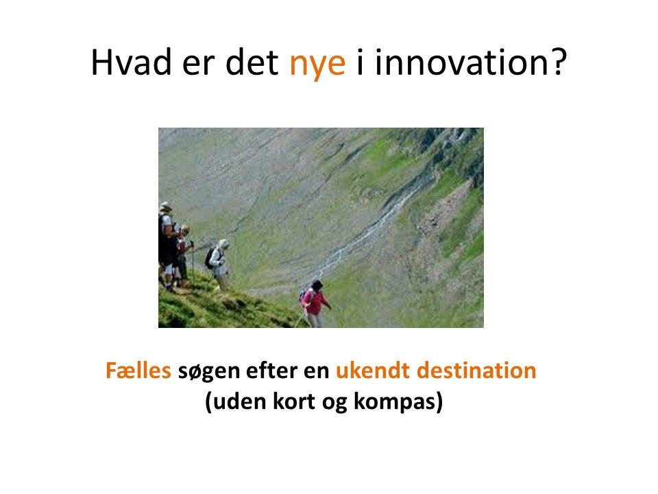 Hvad er det nye i innovation