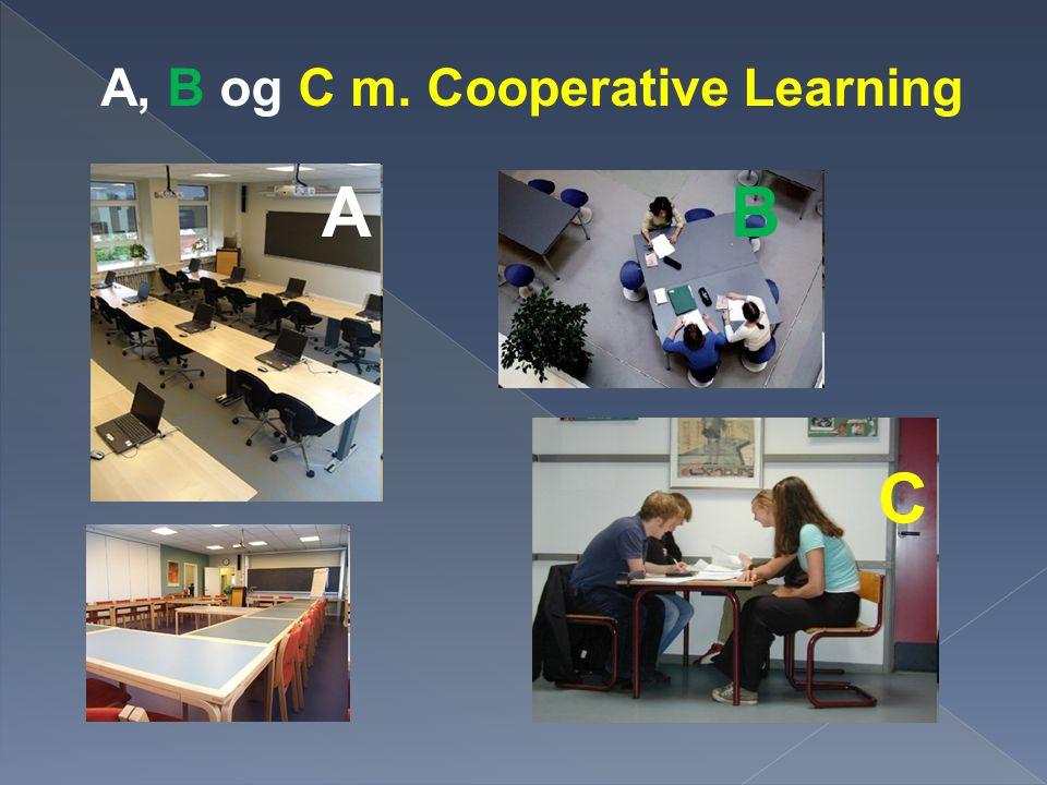 A, B og C m. Cooperative Learning
