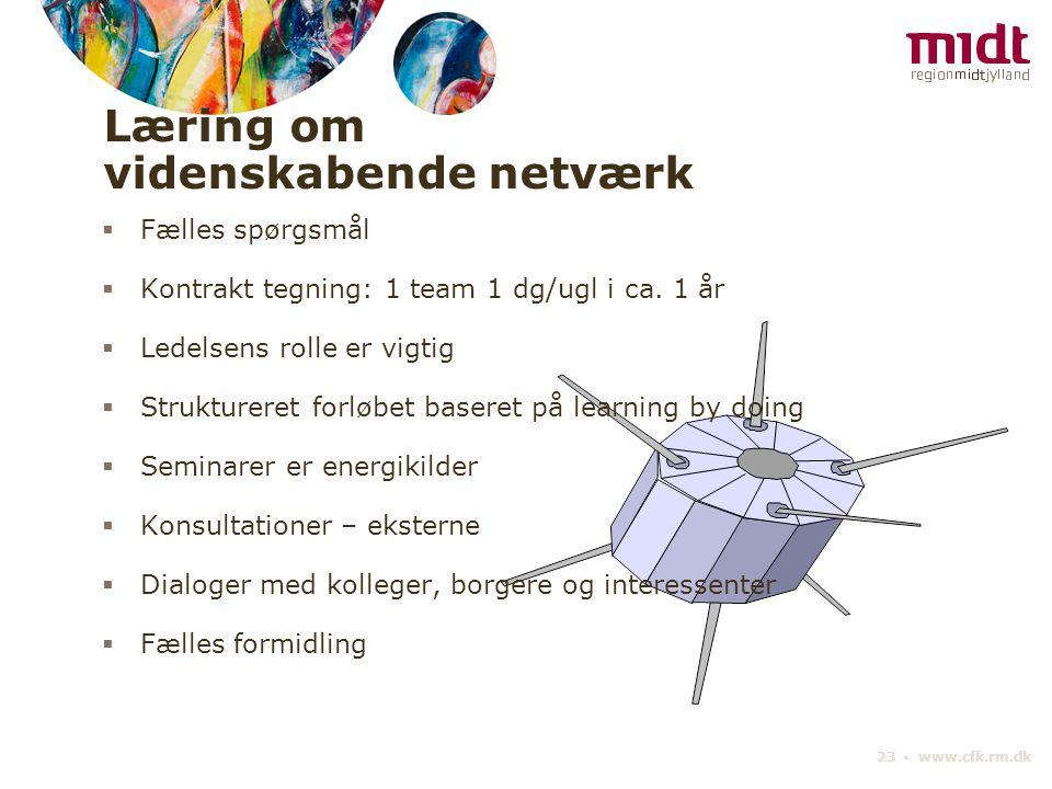Læring om videnskabende netværk