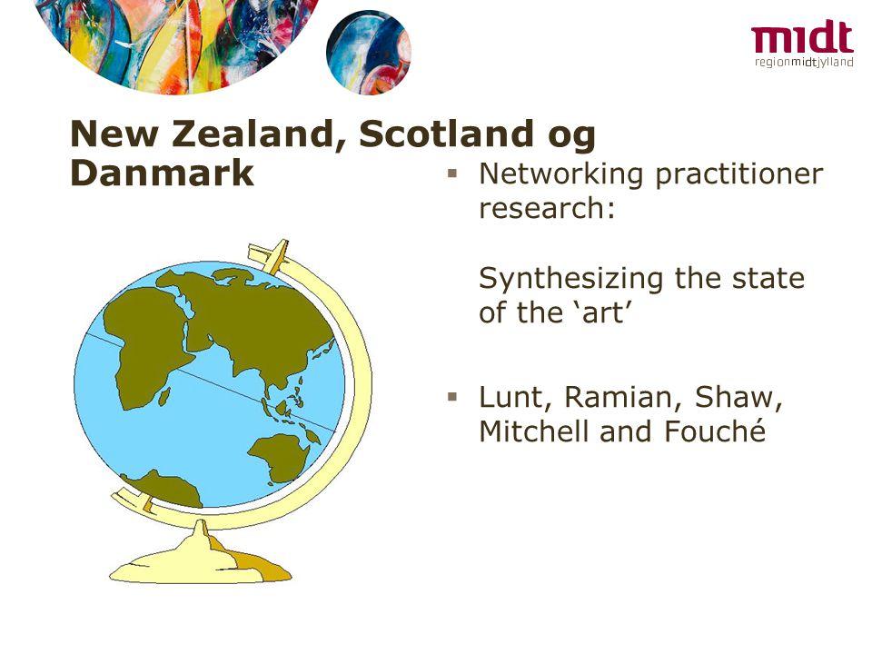 New Zealand, Scotland og Danmark