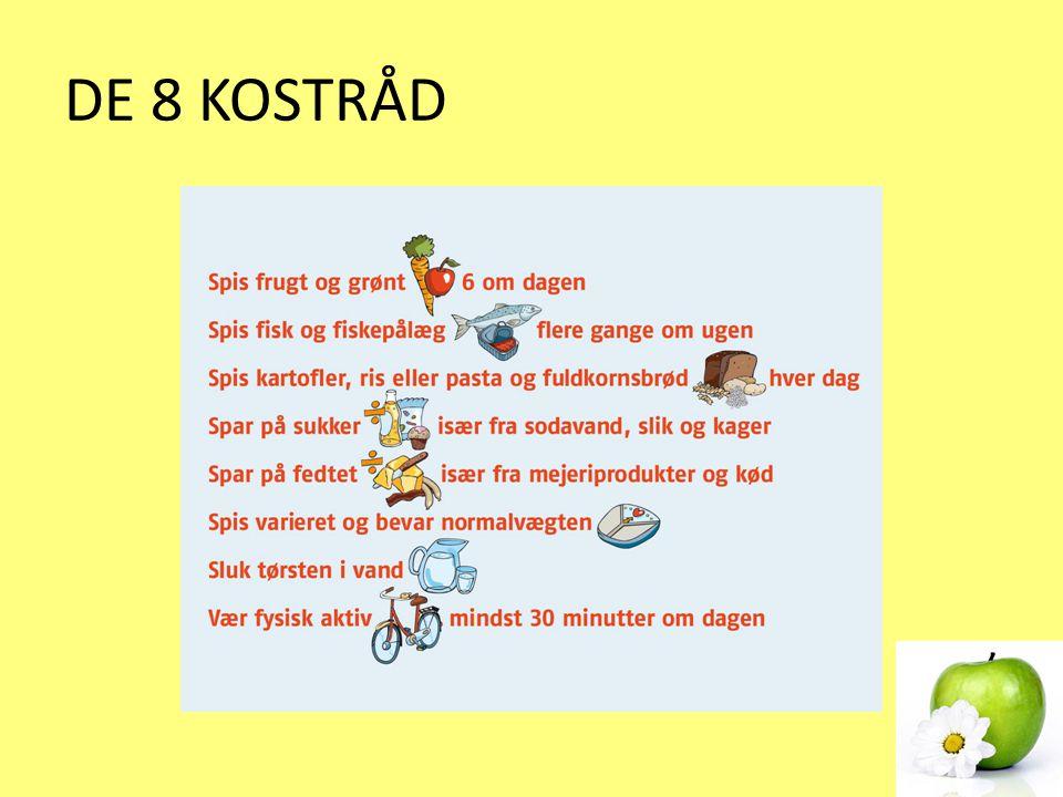 DE 8 KOSTRÅD