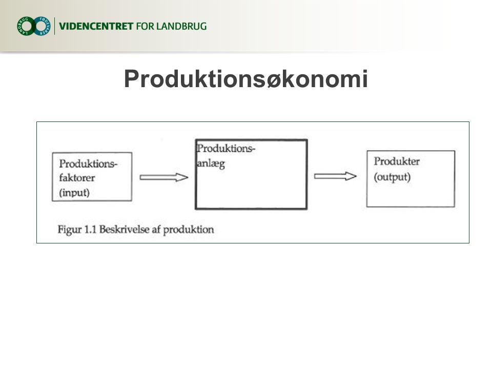 3. april 2017 Produktionsøkonomi