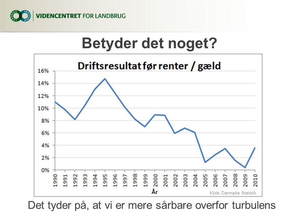 3. april 2017 Betyder det noget. Kilde: Danmarks Statistik.