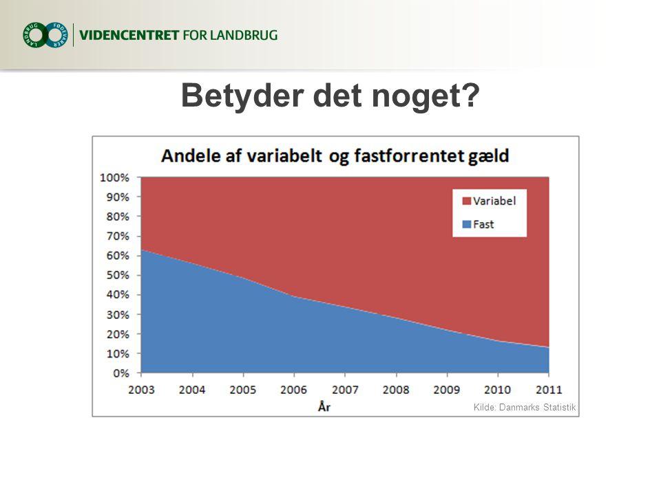 3. april 2017 Betyder det noget Kilde: Danmarks Statistik