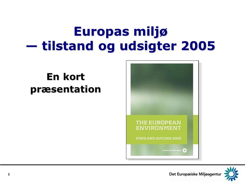 Europas miljø — tilstand og udsigter 2005