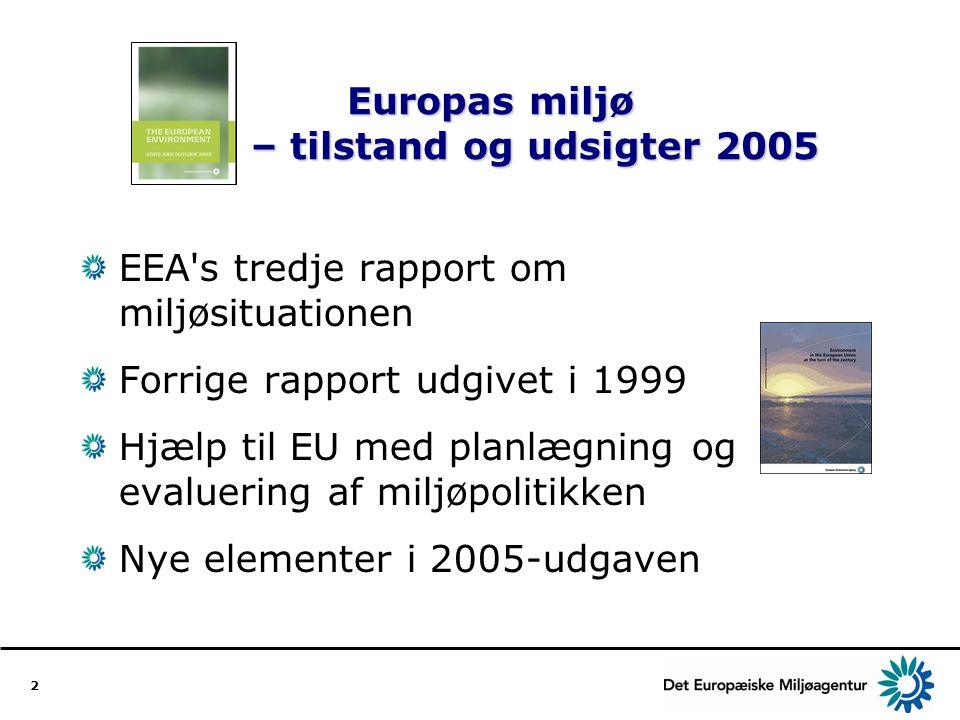 Europas miljø – tilstand og udsigter 2005