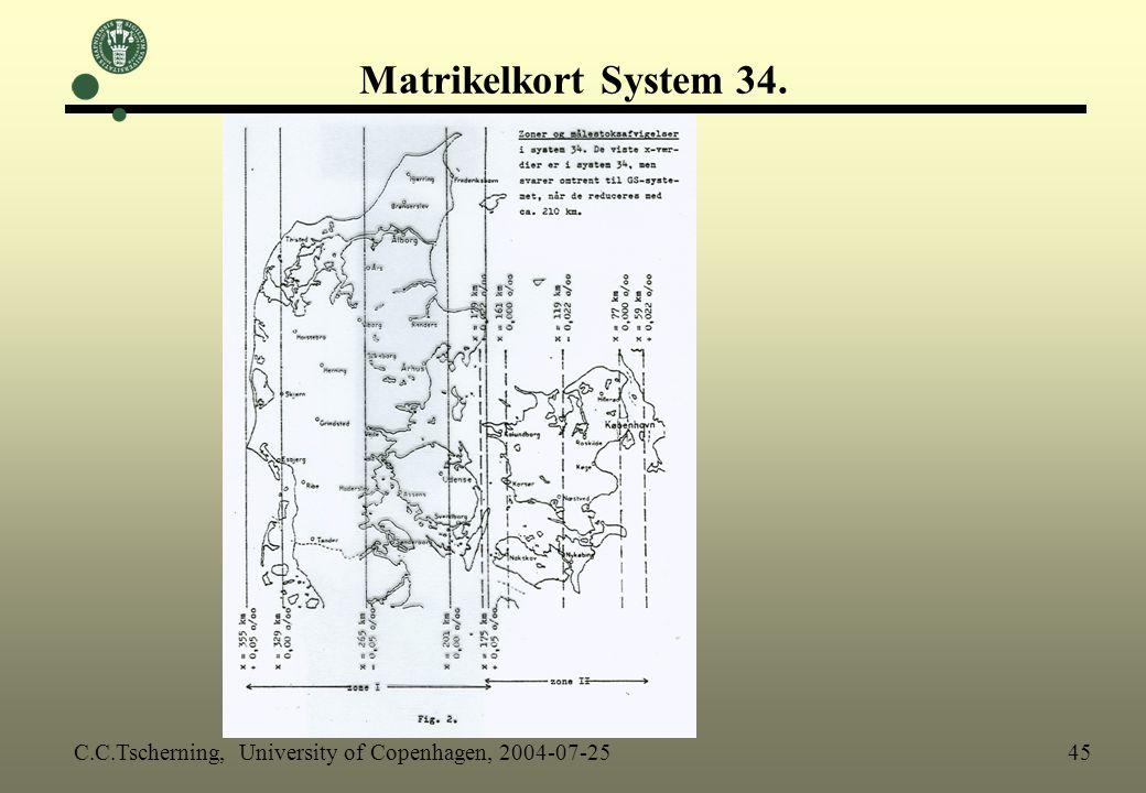 Matrikelkort System 34.