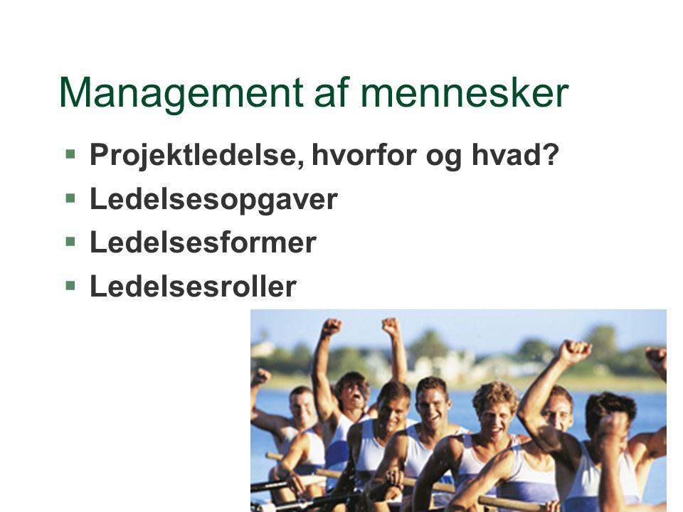 Management af mennesker