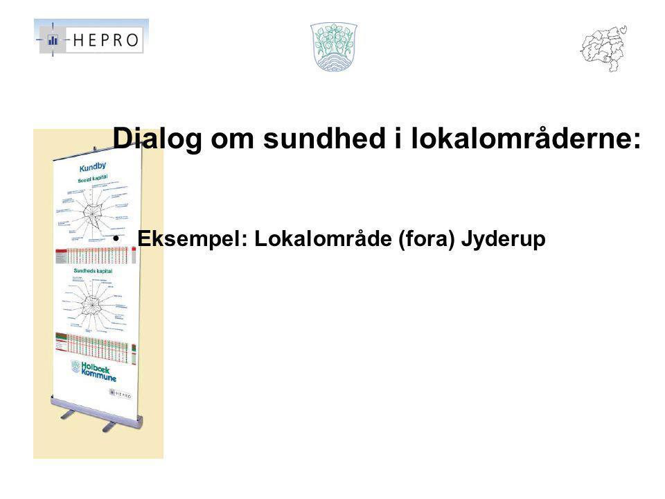 Dialog om sundhed i lokalområderne:
