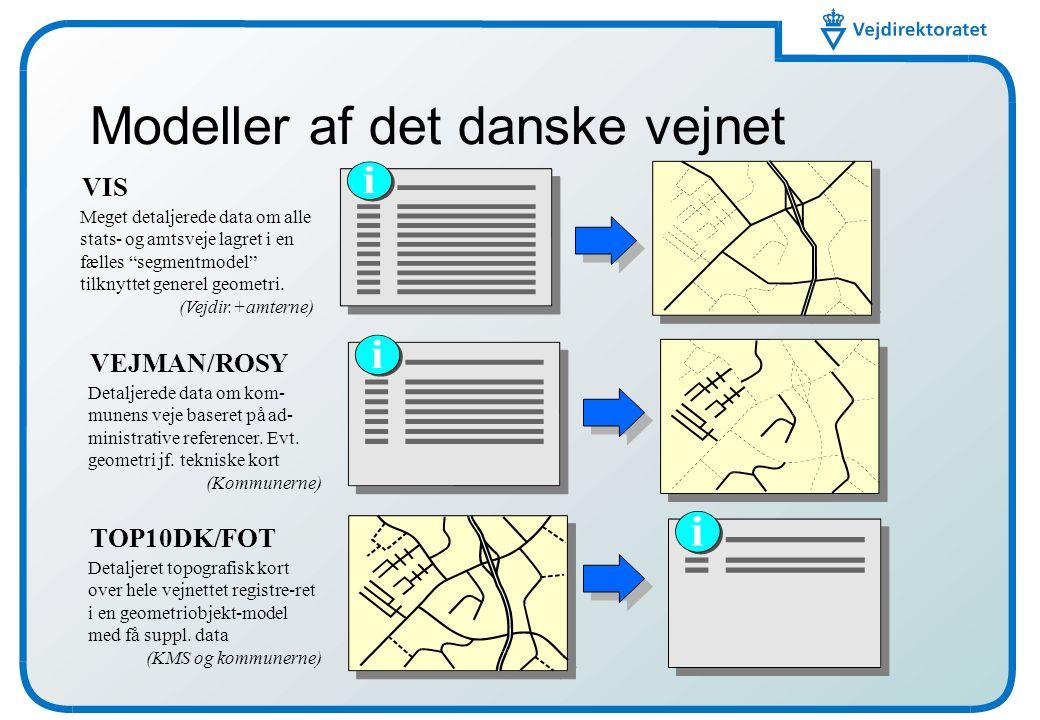 Modeller af det danske vejnet