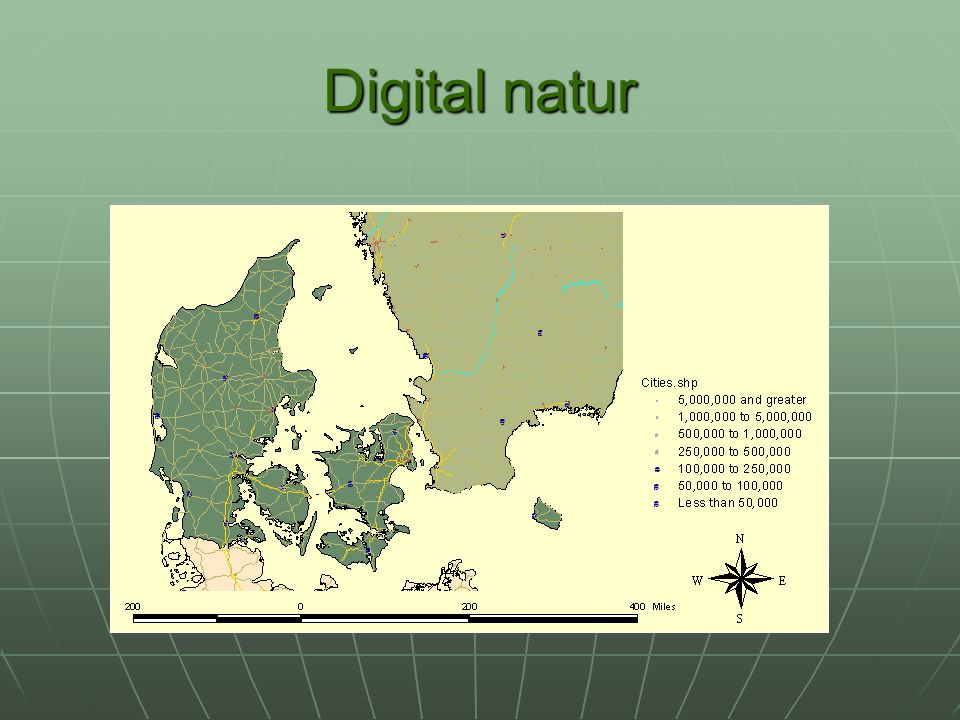 Digital natur