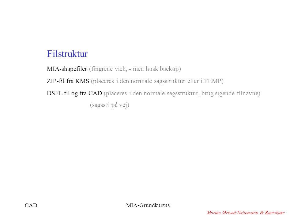 Filstruktur MIA-shapefiler (fingrene væk, - men husk backup)