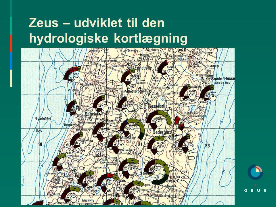 Zeus – udviklet til den hydrologiske kortlægning