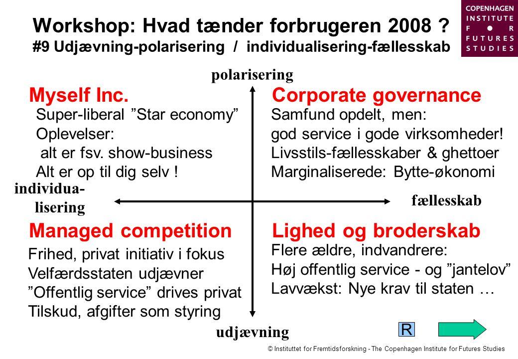 Workshop: Hvad tænder forbrugeren 2008