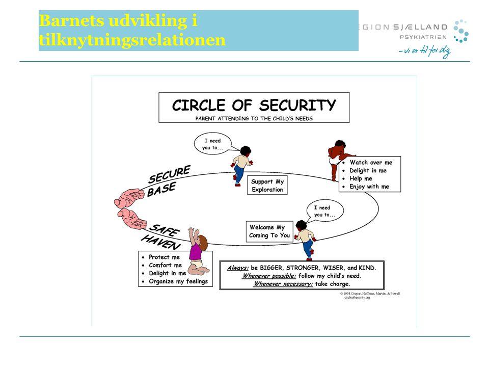 Barnets udvikling i tilknytningsrelationen