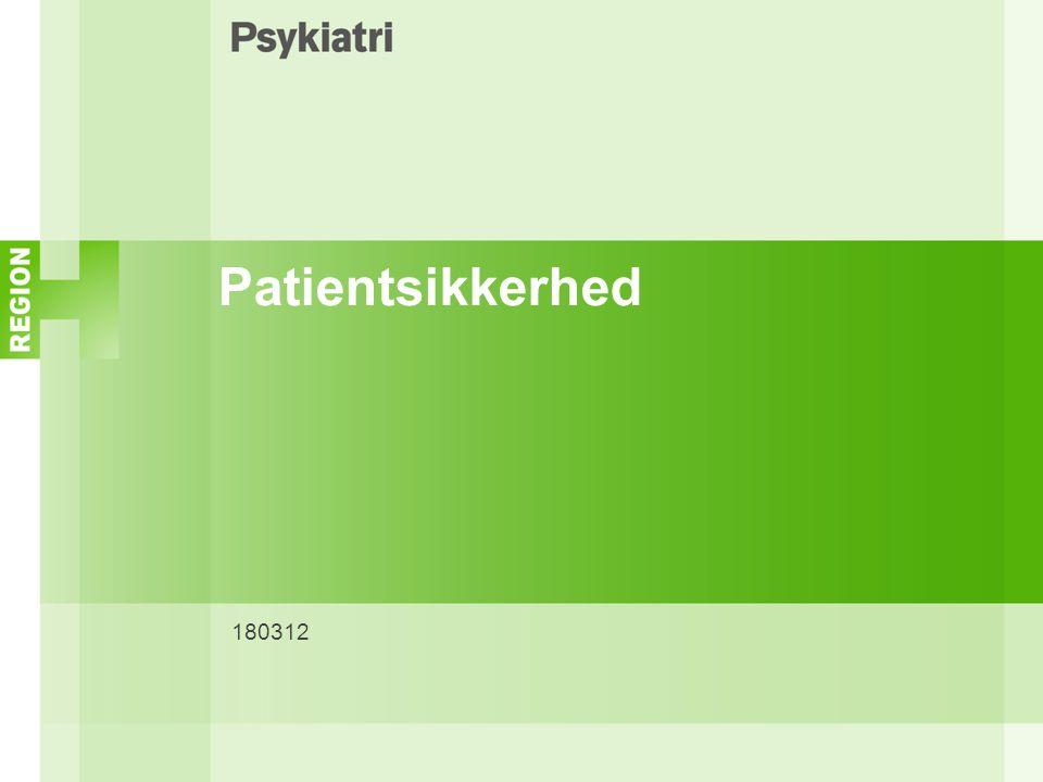 Patientsikkerhed 180312