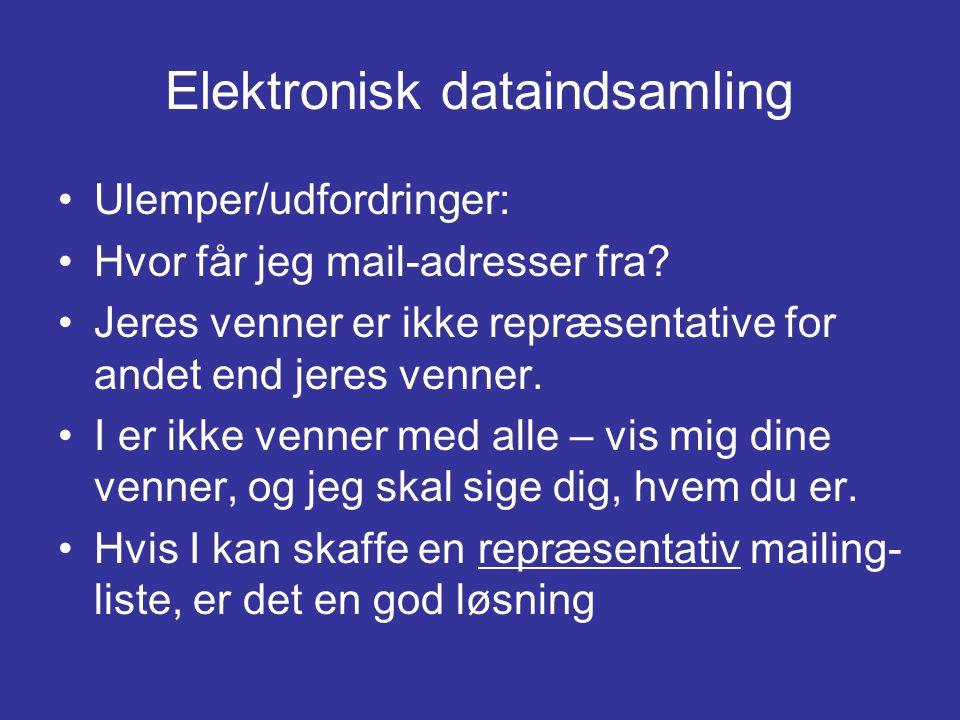Elektronisk dataindsamling
