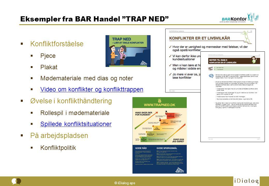 Eksempler fra BAR Handel TRAP NED
