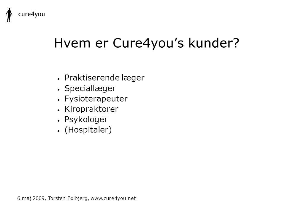 Hvem er Cure4you's kunder