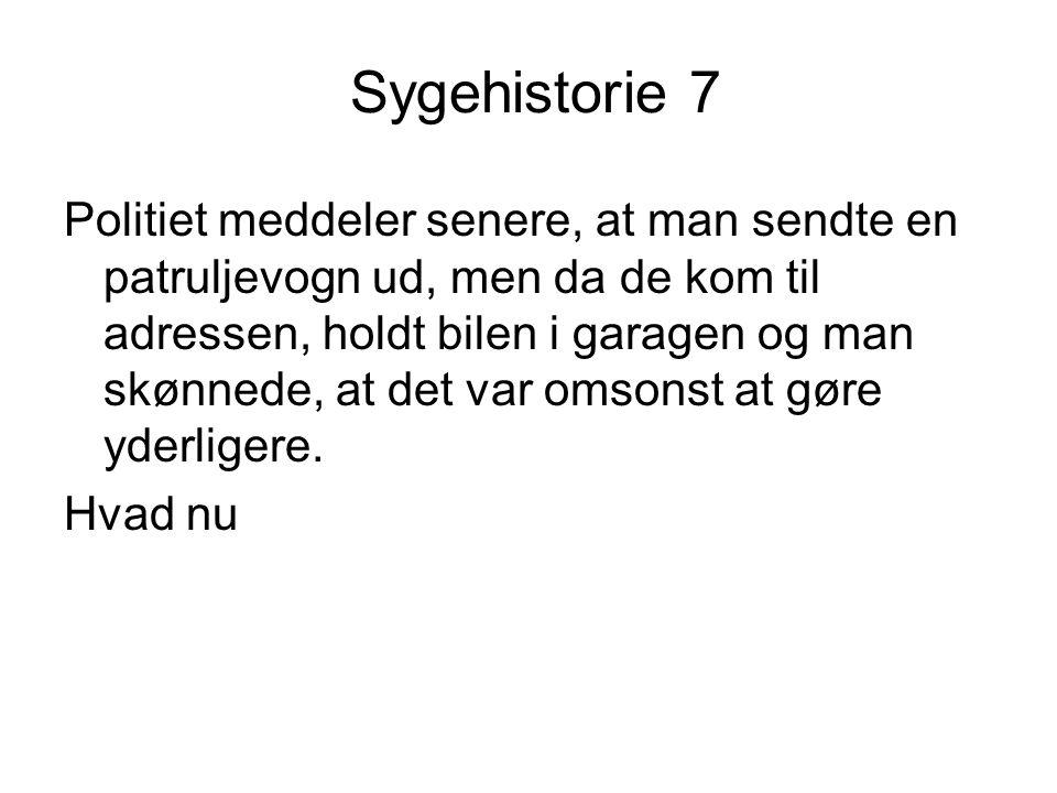 Sygehistorie 7