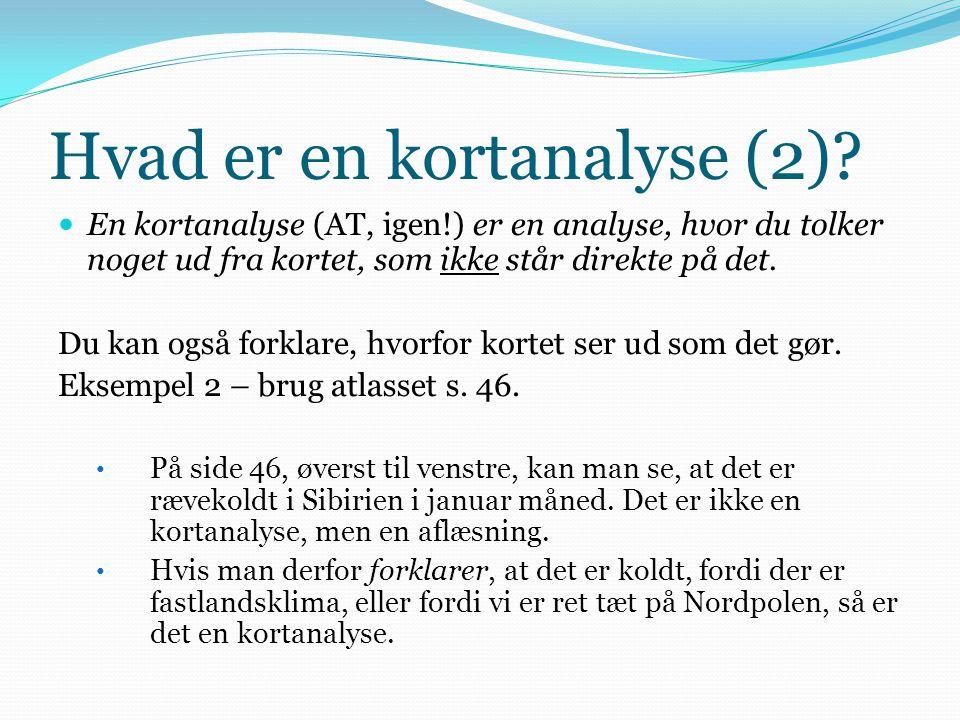 Hvad er en kortanalyse (2)