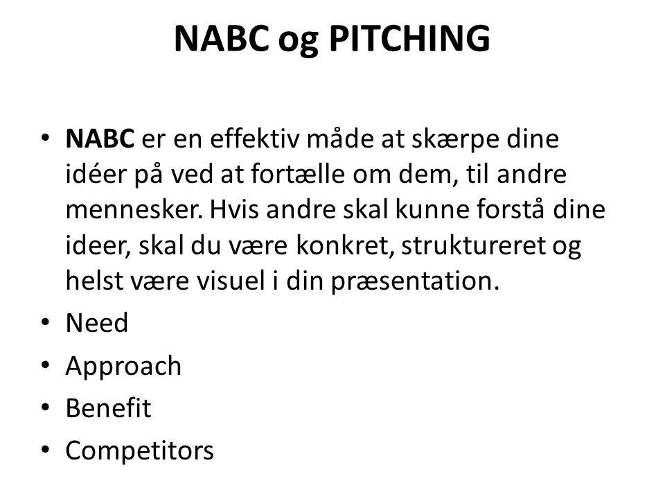 NABC og PITCHING