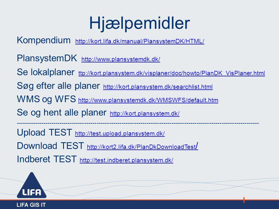 Hjælpemidler Kompendium http://kort.lifa.dk/manual/PlansystemDK/HTML/