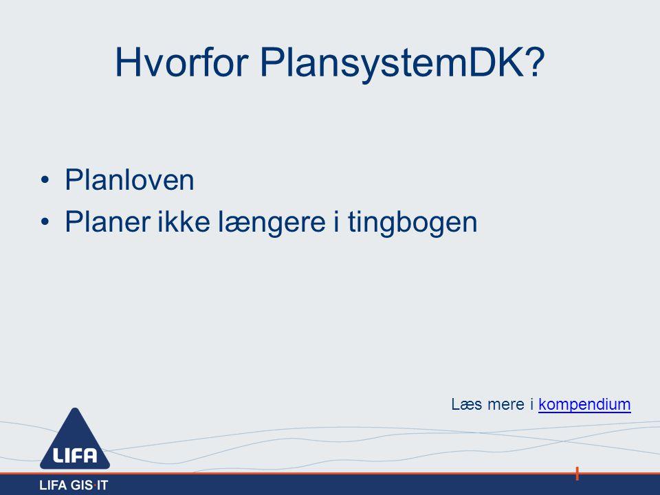 Hvorfor PlansystemDK Planloven Planer ikke længere i tingbogen